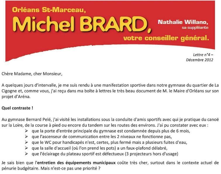 michel brard lettre n°4