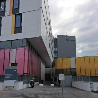 hôpital, bâtiment de gériatrie photo 1
