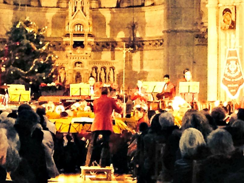 concert à l'église Saint Marceau