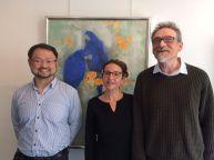 Shinichi Tokawa, Nathalie Willano et Michel Brard